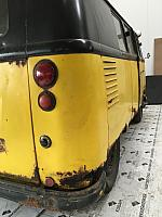 Splitbus Type 2 - Barndoor - 54 School Bus (original dove blue Kombi)